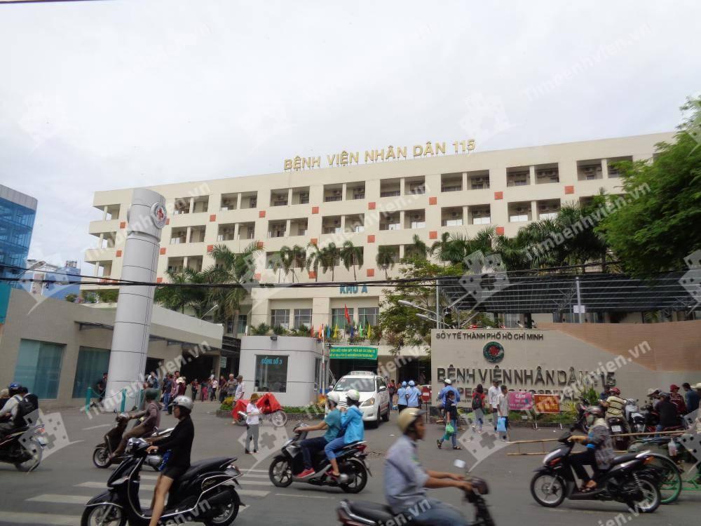 Bệnh Viện Nhân Dân 115 - Cổng chính