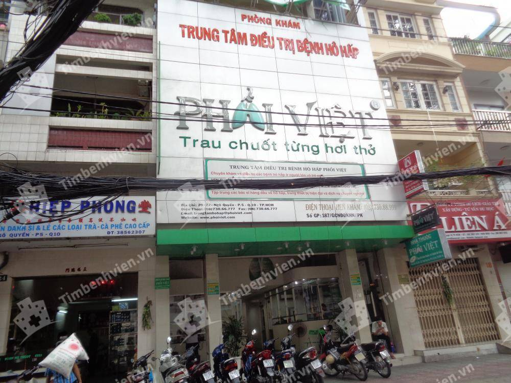 Trung Tâm Điều Trị Bệnh Hô Hấp Phổi Việt