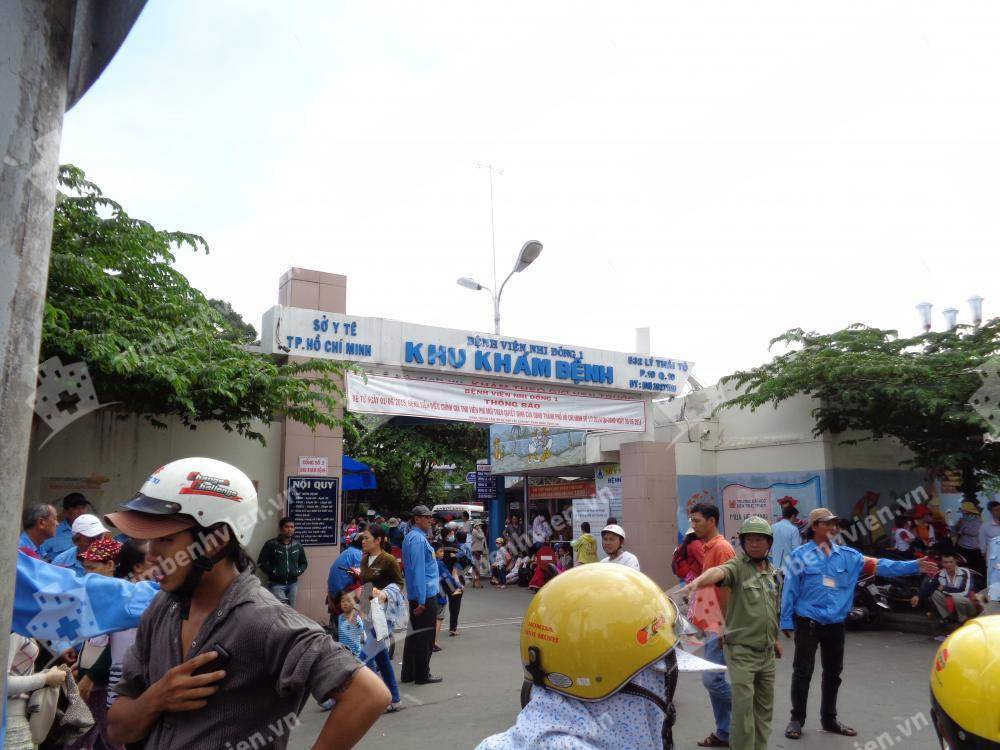 Bệnh Viện Nhi Đồng 1 - Cổng chính