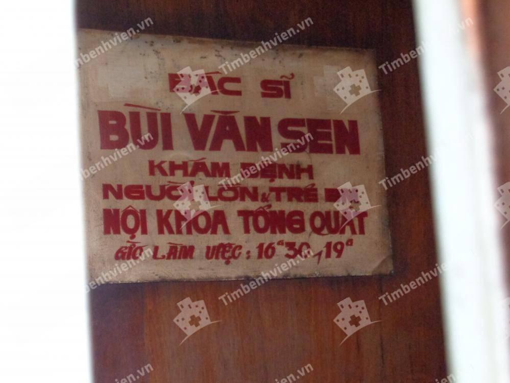 Phòng Khám Nội tổng quát - Bác Sĩ Bùi Văn Sen