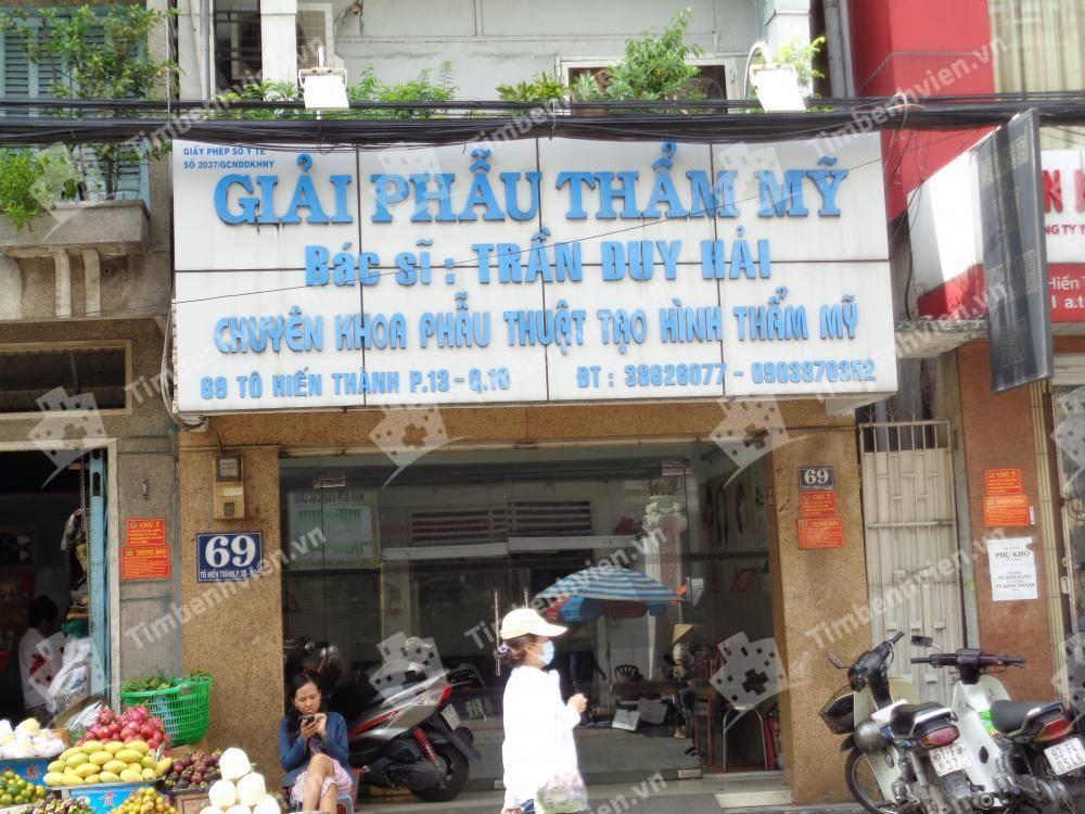 Giải phẫu thẩm mỹ Bác sỹ Trần Duy Hải