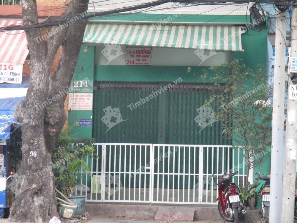 Phòng Khám Tai Mũi Họng & Nội Nhi - BS Trần Quang Dưỡng - Cổng chính