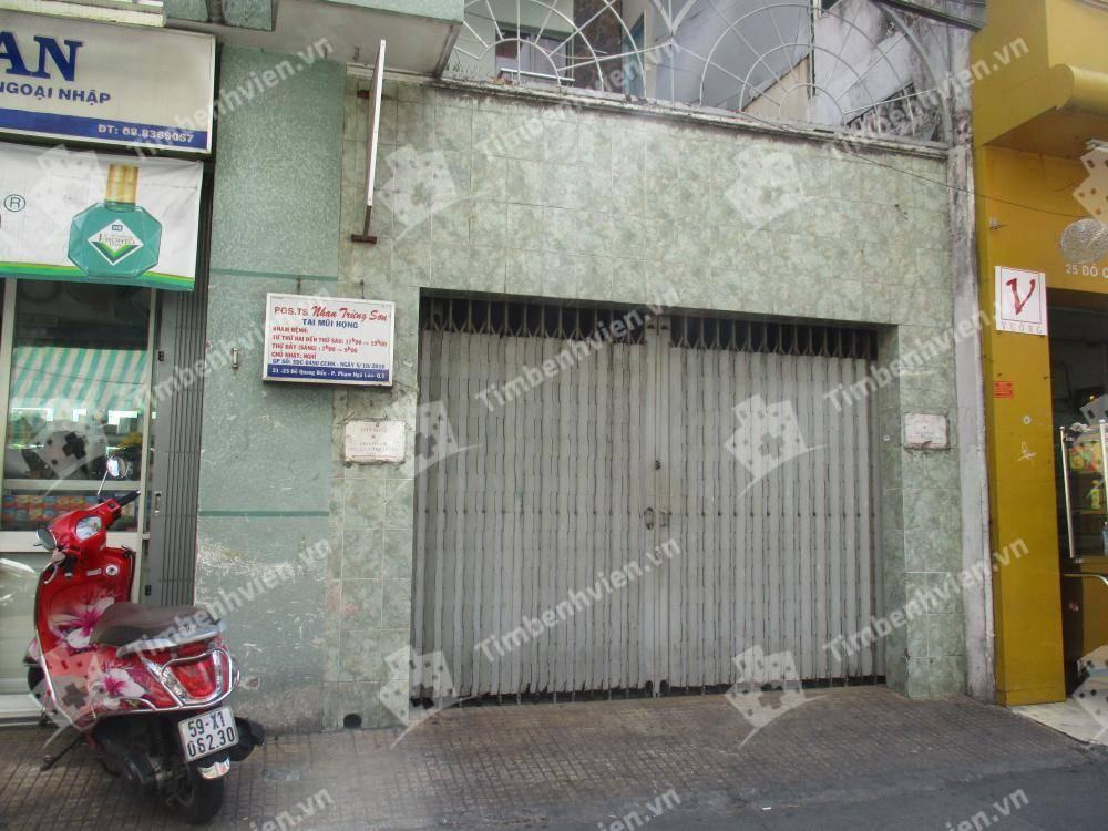 Phòng Khám Chuyên Khoa Tai Mũi Họng - BS Nhan Trừng Sơn - Cổng chính