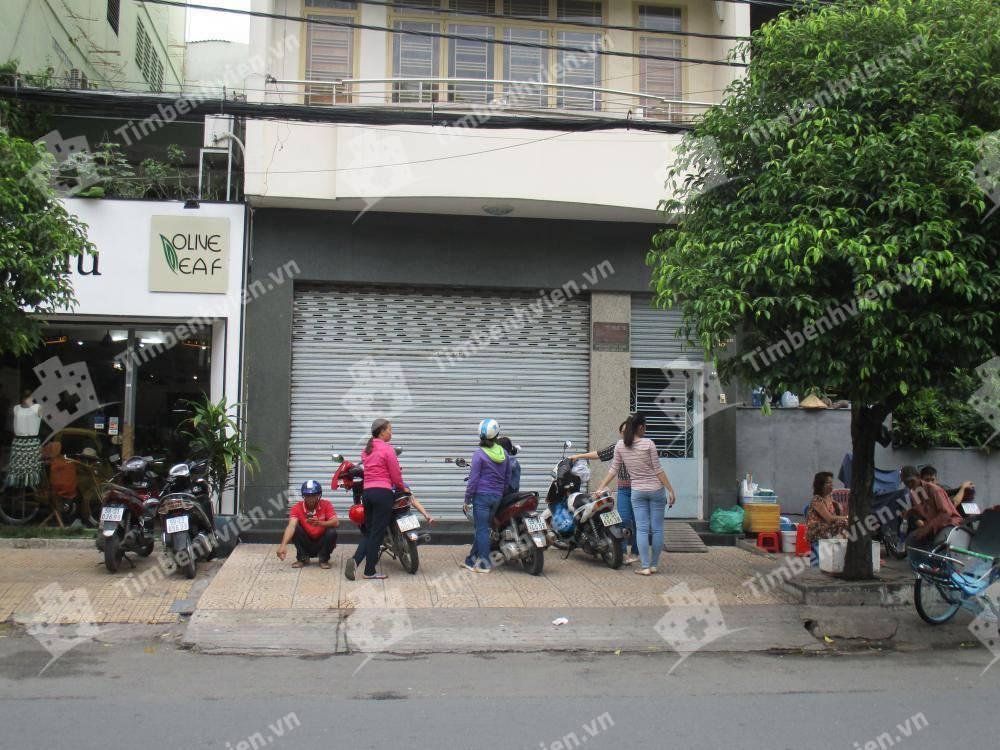 Phòng Khám Chuyên Khoa Nhi - BS Lê Thị Khánh Vân - Cổng chính