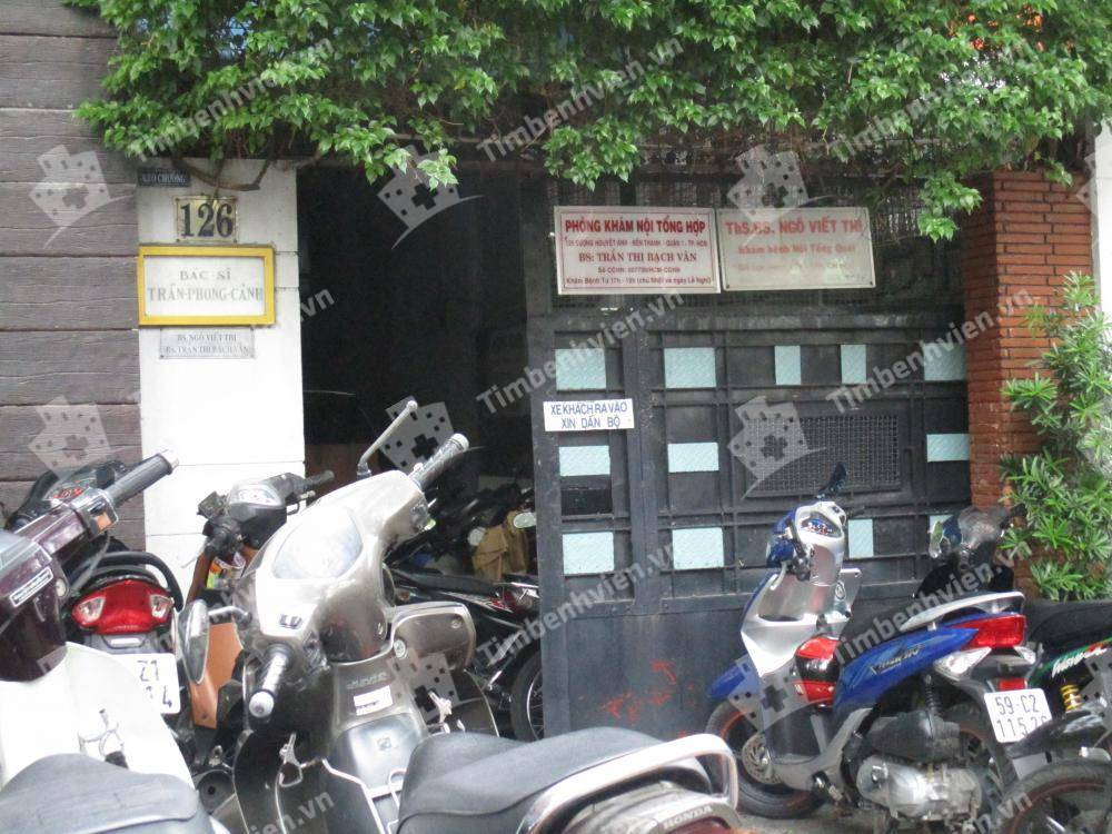 Phòng Khám Chuyên Khoa Nội Tổng Hợp - BS Trần Thị Bạch Vân - Cổng chính