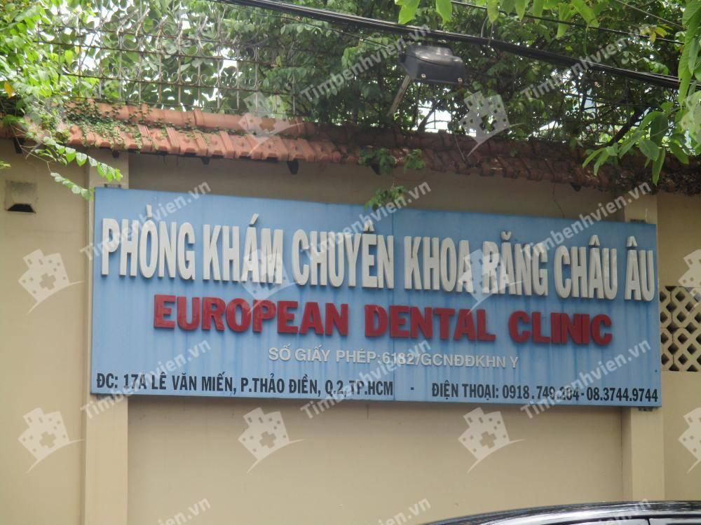 Phòng Khám Chuyên Khoa Răng Châu Âu