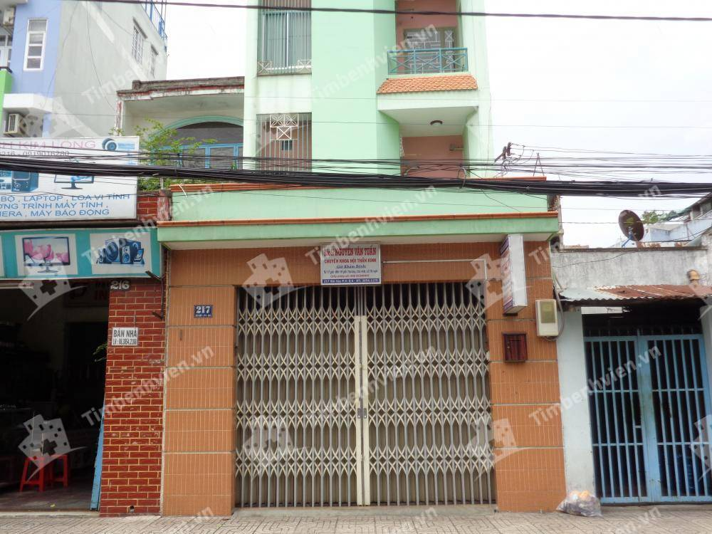 Phòng Khám Chuyên Khoa Thần Kinh - BS Nguyễn Văn Tuấn - Cổng chính