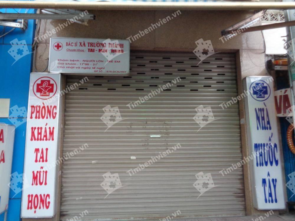 Phòng Khám Chuyên Khoa Tai Mũi Họng - BS Xà Trường Thành - Cổng chính