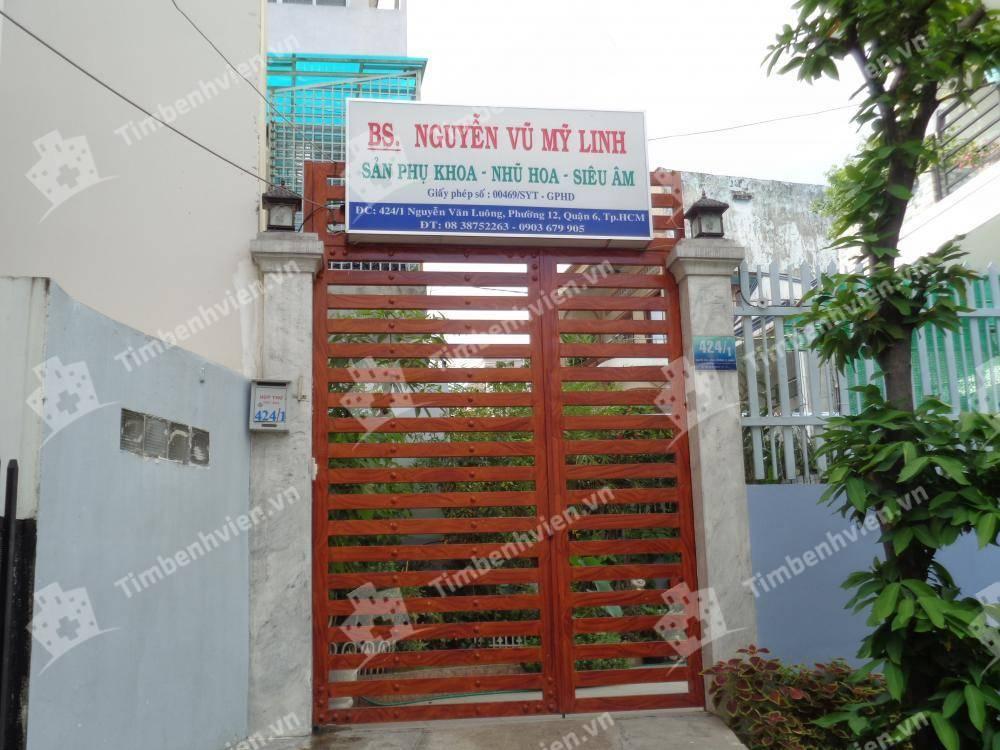 Phòng khám chuyên khoa Sản phụ khoa - BS Nguyễn Vũ Mỹ Linh - Cổng chính