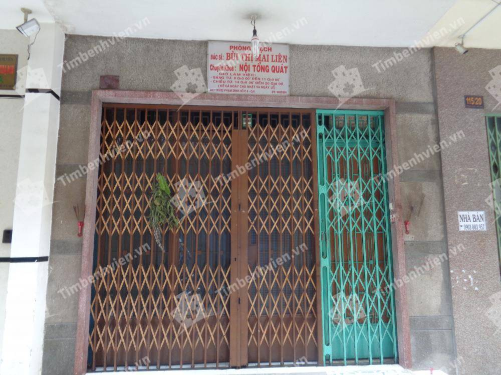 Phòng khám chuyên khoa Nội Tổng Quát - BS Bùi Thị Mai Liên - Cổng chính