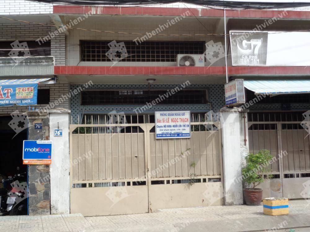 Phòng Khám Chuyên Khoa Nội Tổng Hợp - BS Lê Ngọc Thạch - Cổng chính