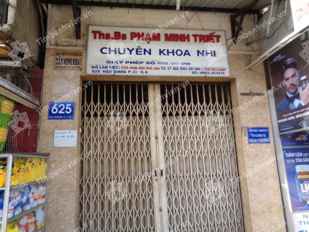 Phòng khám chuyên khoa Nhi - BS Phạm Minh Triết