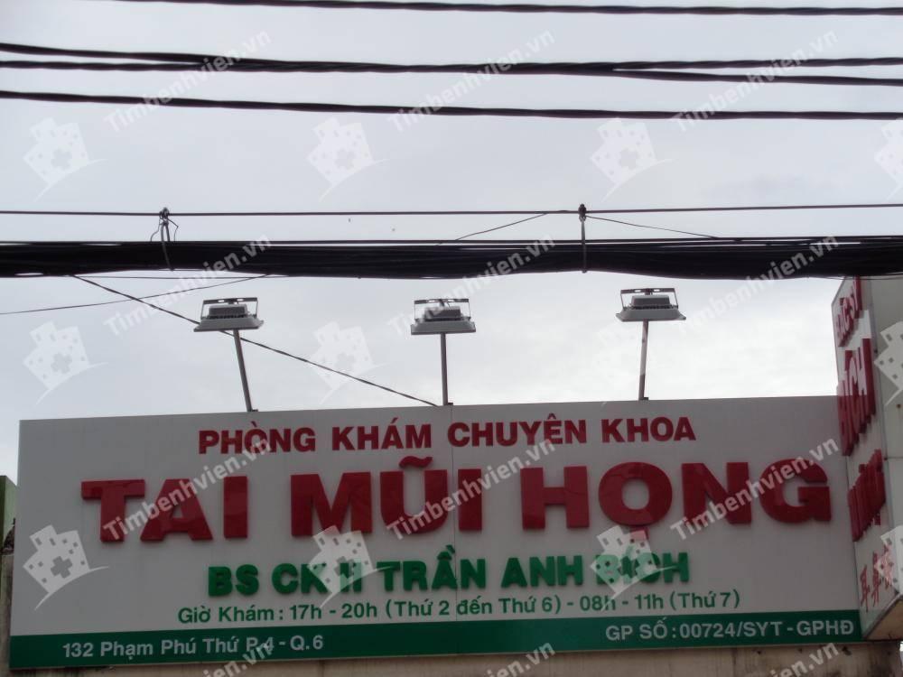 Phòng Khám Chuyên Khoa Tai Mũi Họng - BS Trần Anh Bích