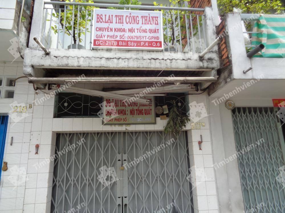 Phòng Khám Chuyên Khoa Nội Tổng Hợp - BS Lại Thị Công Thành