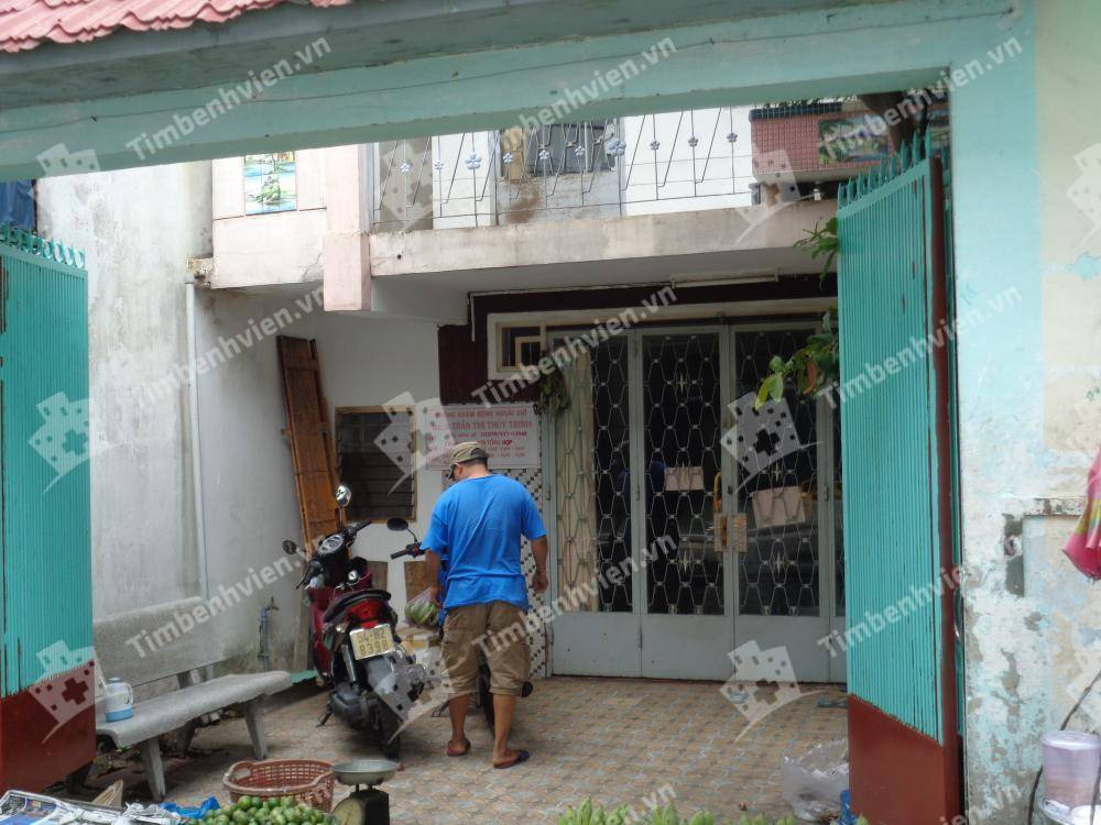 Phòng Khám Chuyên Khoa Nội Tổng Hợp - BS Trần Thị Thủy Trinh - Cổng chính