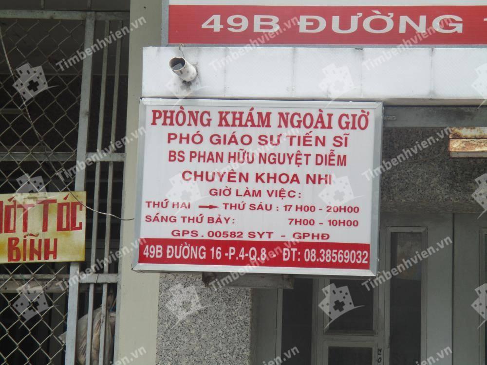 Phòng khám chuyên khoa Nhi - BS. Phan Hữu Nguyệt Diễm