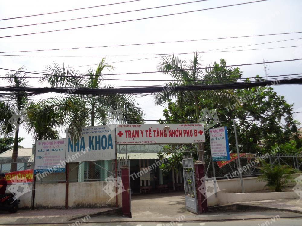 Trạm y tế phường Tăng Nhơn Phú B