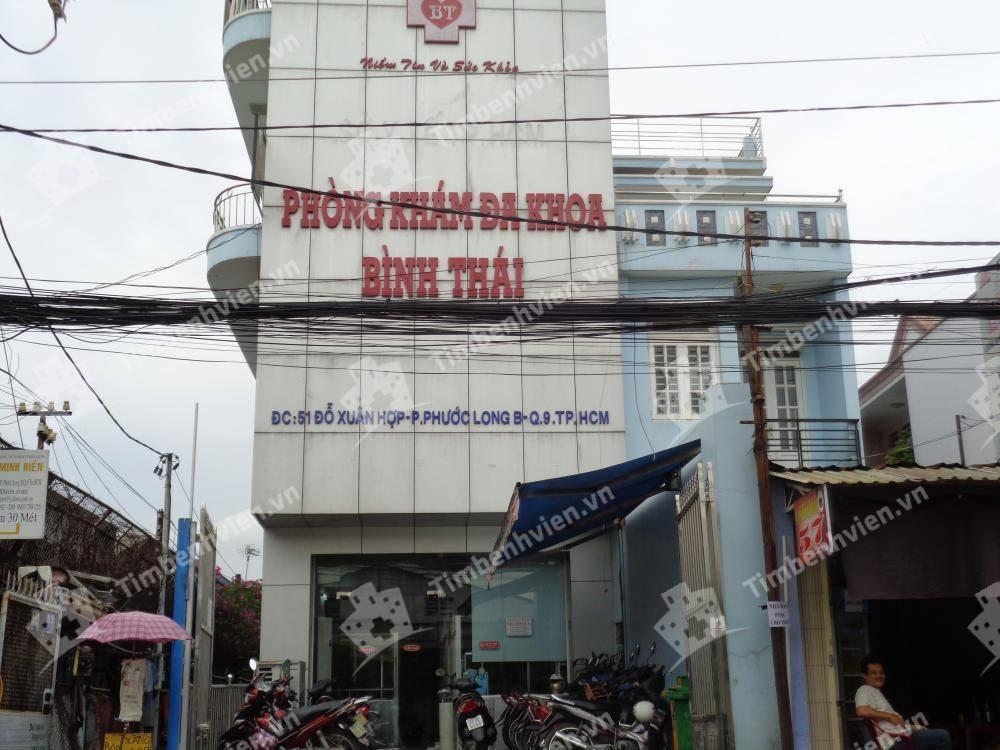 Phòng khám đa khoa Bình Thái - Cổng chính