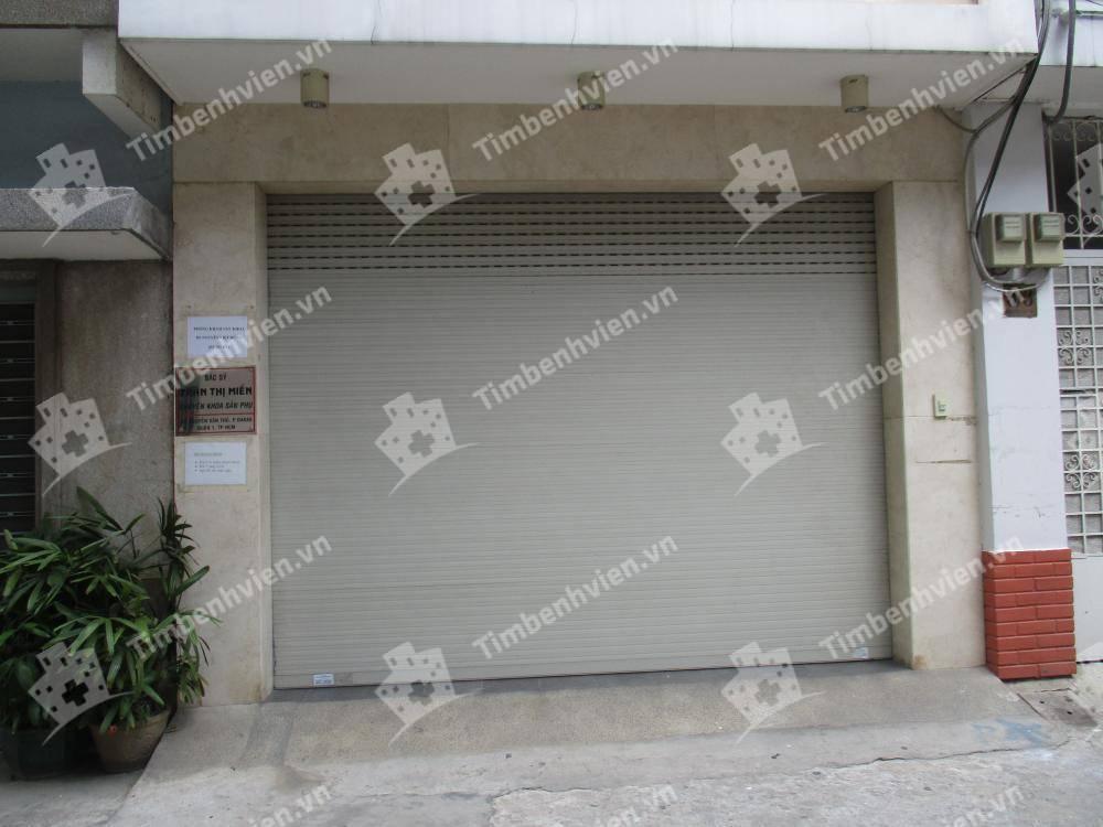 Phòng khám Sản phụ khoa - BS Trần Thị Miền - Cổng chính