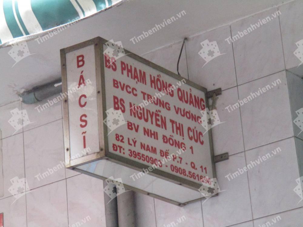 Phòng khám BS. Phạm Hồng Quảng