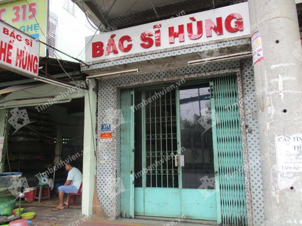 Phòng Khám Chuyên Khoa Nội Tổng Hợp - BS. Nguyễn Thế Hùng - Cổng chính