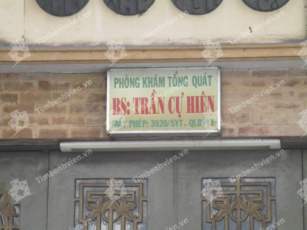 Phòng Khám Chuyên Khoa Nội Tổng Hợp - BS. Trần Cự Hiên
