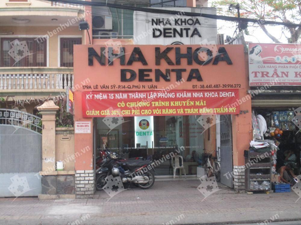 Nha khoa Denta - Cổng chính