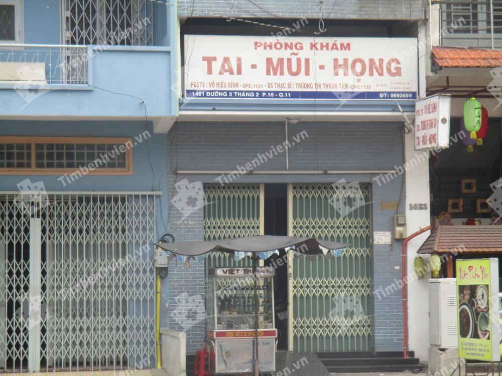 Phòng Khám Tai Mũi Họng -  BS. Võ Hiếu Bình & Trương Thị Thanh Tâm
