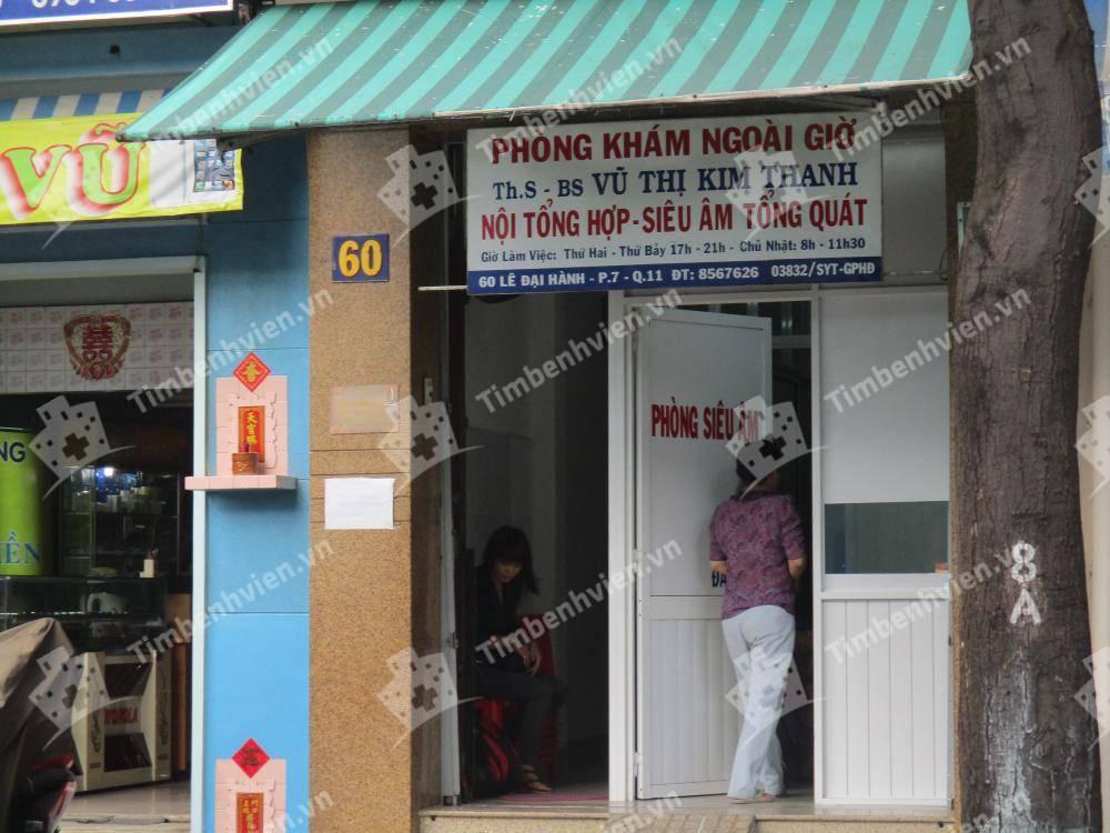 Phòng Khám Chuyên Khoa Nội Tổng Quát - BS. Vũ Thị Kim Thanh