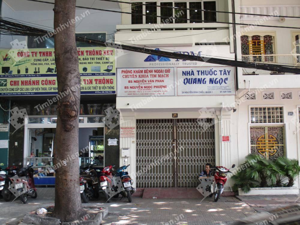 Phòng khám Tim mạch BS Nguyễn Văn Phan - BS Nguyễn Ngọc Phượng