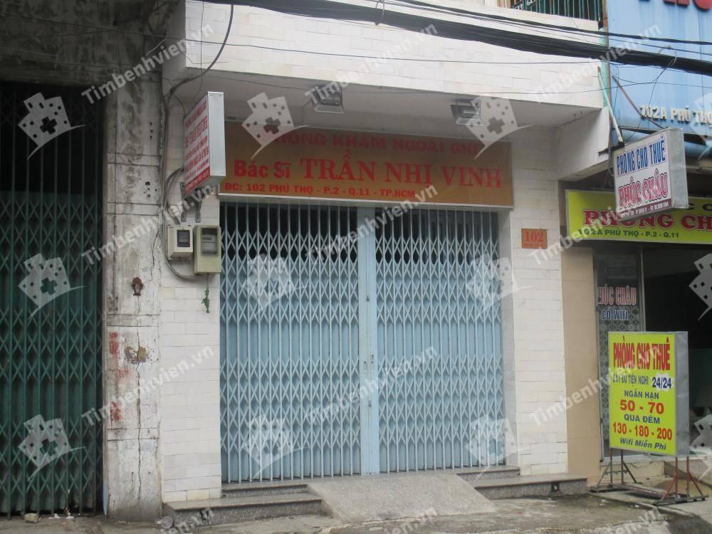 Phòng Khám Chuyên Khoa Nội Tổng Hợp - BS. Trần Nhị Vinh