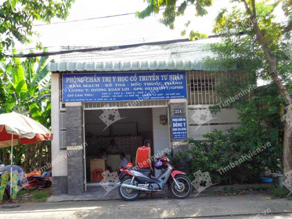 Phòng Chẩn Trị Y Học Đông Y Dương Xuân Lợi