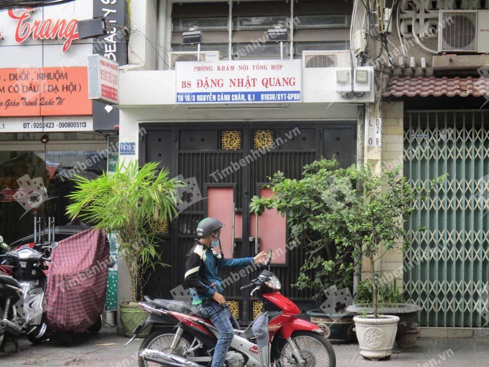 Phòng Khám Chuyên Khoa Nội Tổng Hợp - BS. Đặng Nhật Quang - Cổng chính