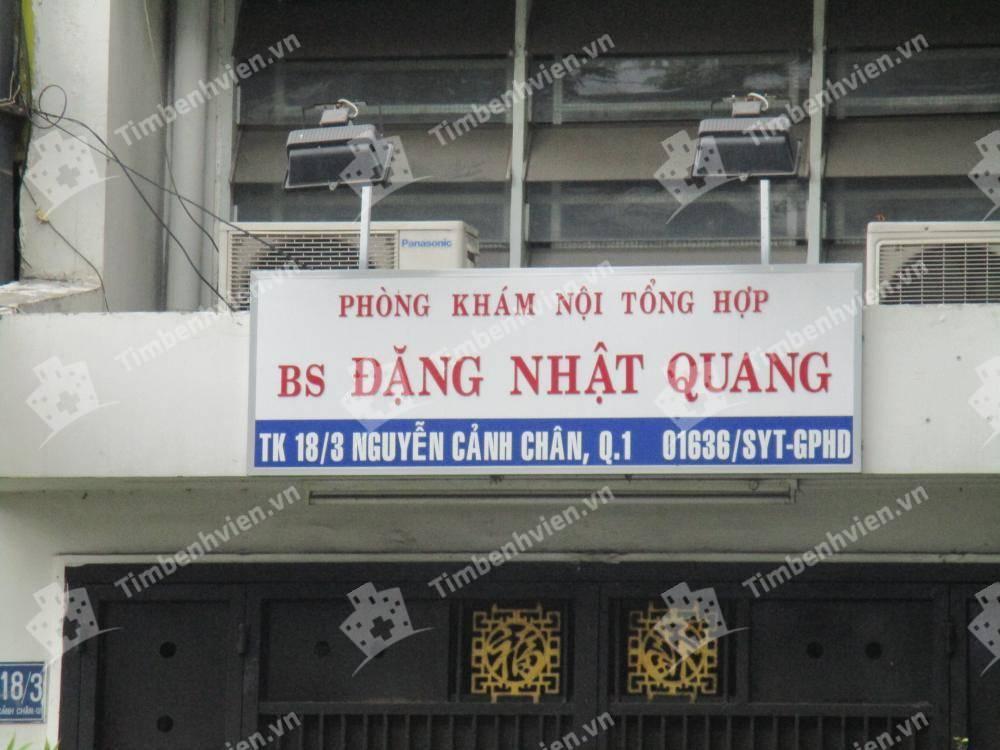 Phòng Khám Chuyên Khoa Nội Tổng Hợp - BS. Đặng Nhật Quang