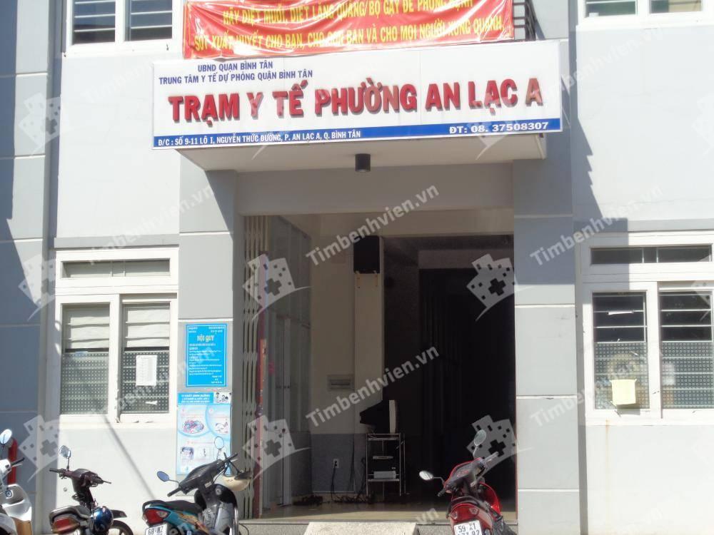 Trạm Y Tế Phường An Lạc A Quận Bình Tân