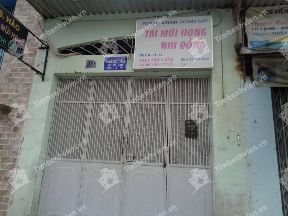 Phòng Khám Chuyên Khoa Tai Mũi Họng - BS. Trần Thiện Hảo