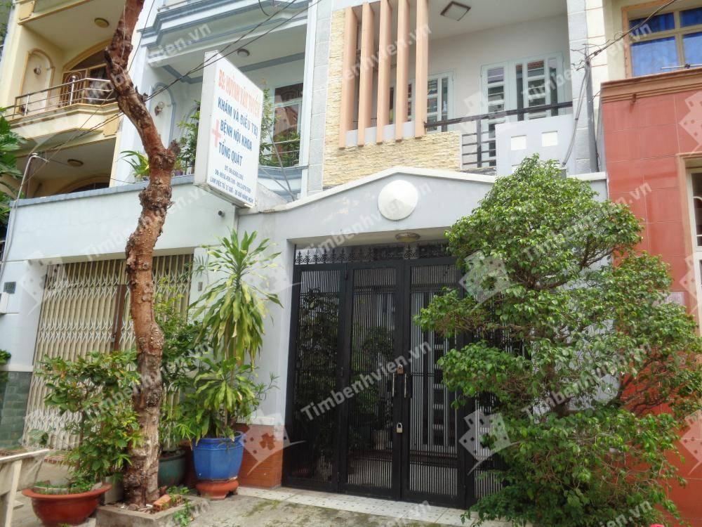 Phòng khám chuyên khoa Nội Tổng Hợp - BS. Huỳnh Văn Tiến - Cổng chính