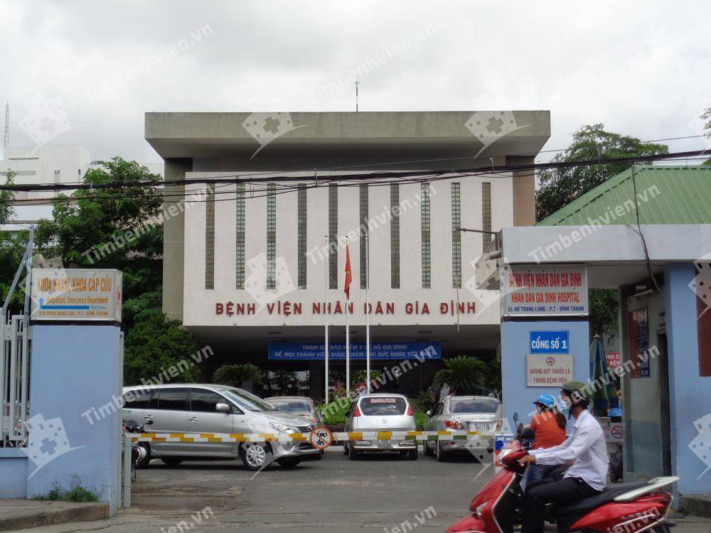 Bệnh Viện Nhân Dân Gia Định - Cổng chính