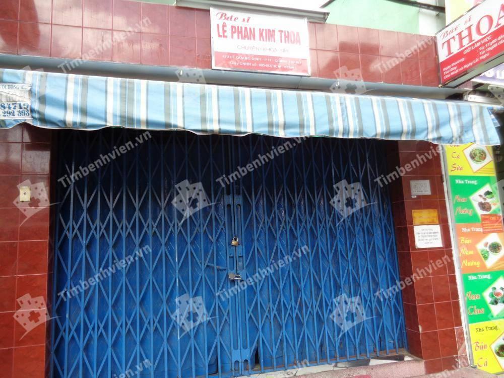 Phòng khám chuyên khoa Nhi - BS. Lê Phan Kim Thoa