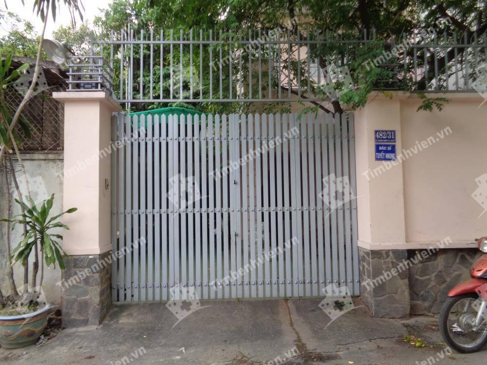 Phòng khám BS. Lê Thị Tuyết Nhung - Cổng chính
