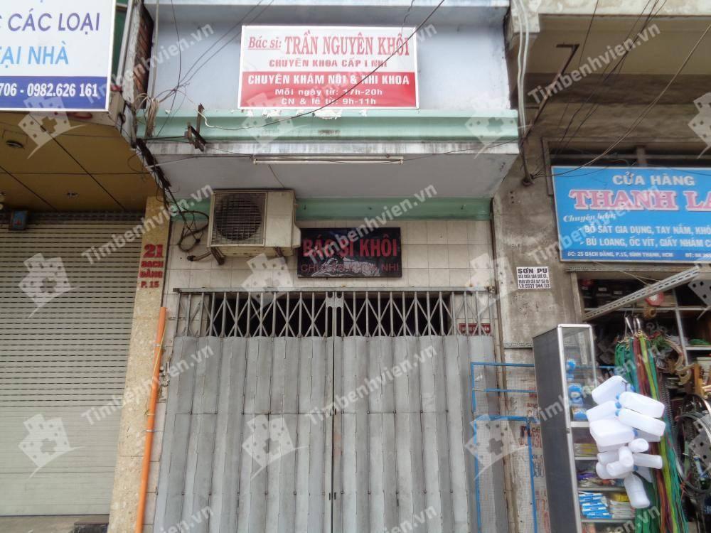 Phòng khám chuyên khoa Nhi - BS. Trần Nguyên Khôi
