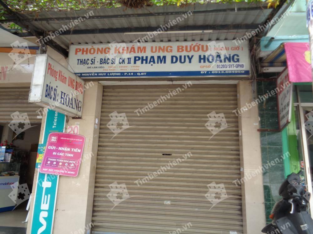 Phòng khám chuyên khoa Ung Bướu - BS. Phạm Duy Hoàng