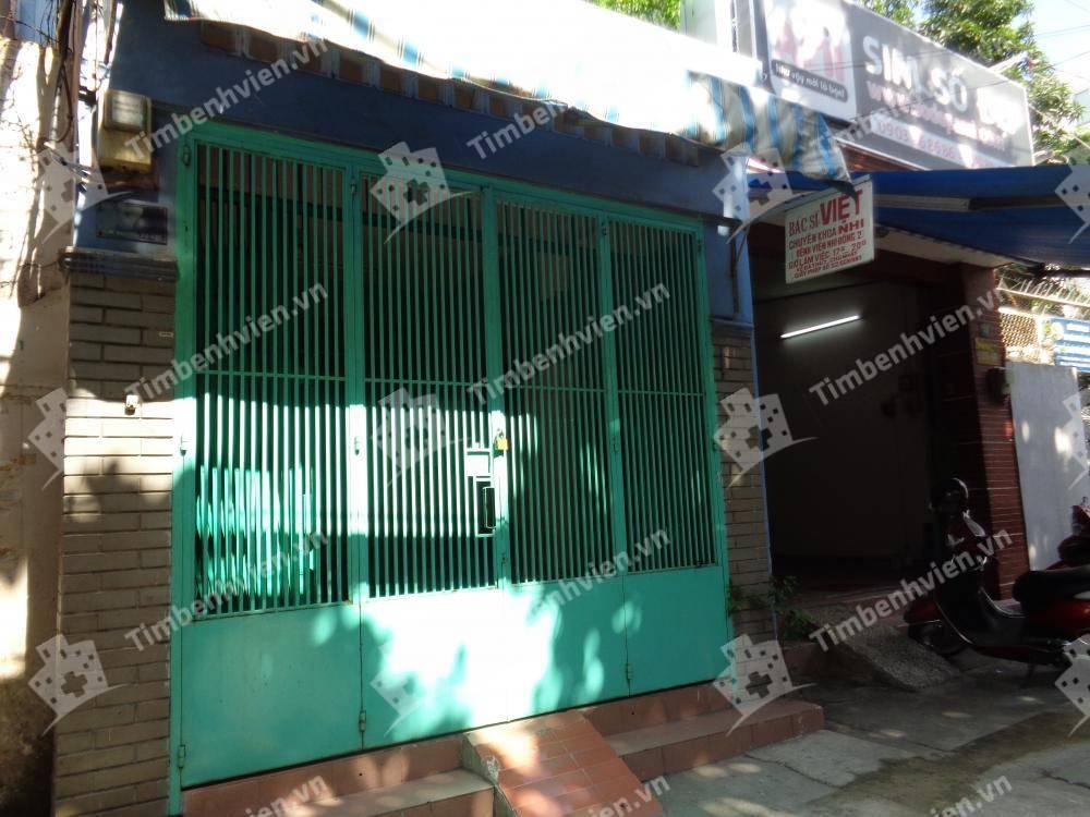 Phòng khám chuyên khoa Nhi - BS. Trần Thị Việt - Cổng chính