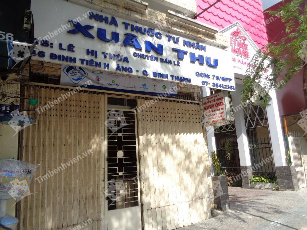 Phòng Khám Chuyên Khoa Nội Tổng Hợp - BS. Nguyễn Thế Thành - Cổng chính