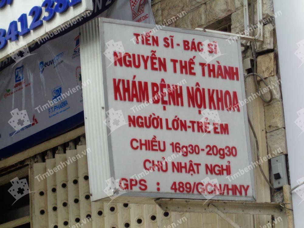 Phòng Khám Chuyên Khoa Nội Tổng Hợp - BS. Nguyễn Thế Thành