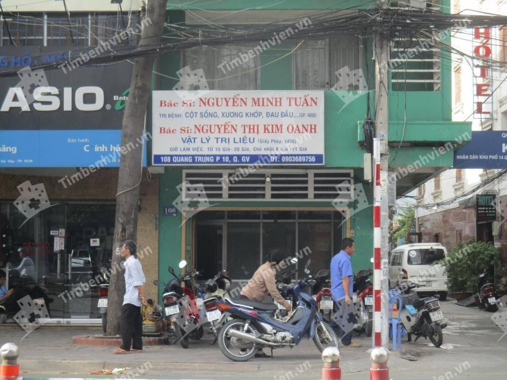 Phòng Khám Vật lý trị liệu - BS. Nguyễn Minh Tuấn & BS Nguyễn Thị Kim Oanh