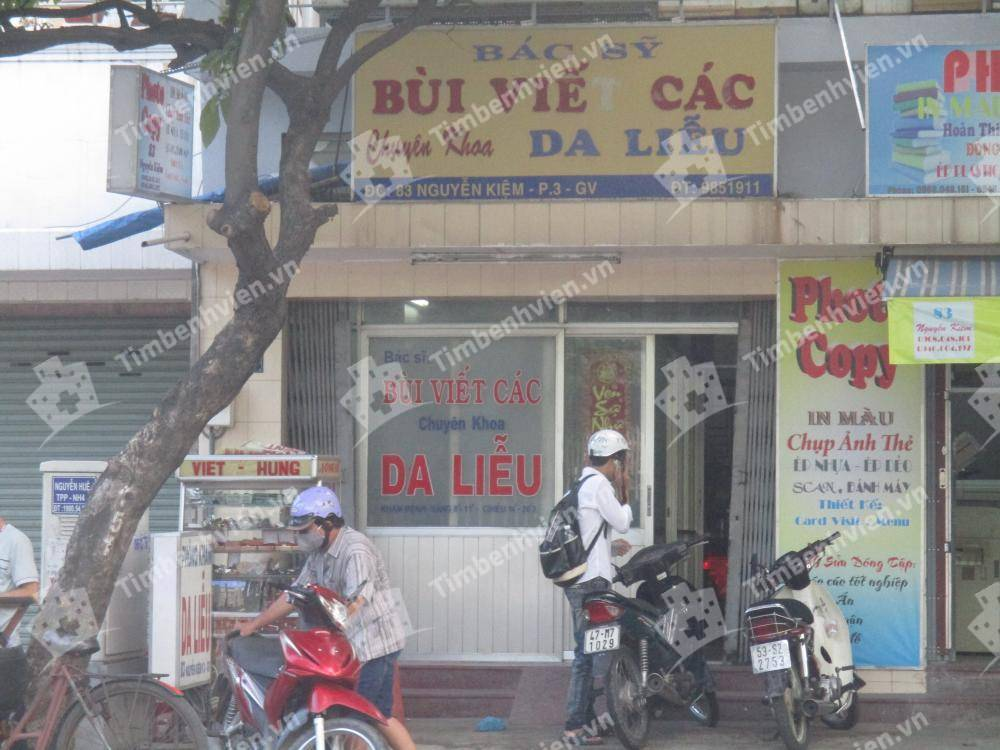Phòng khám chuyên khoa Da liễu - BS Nguyễn Viết Các