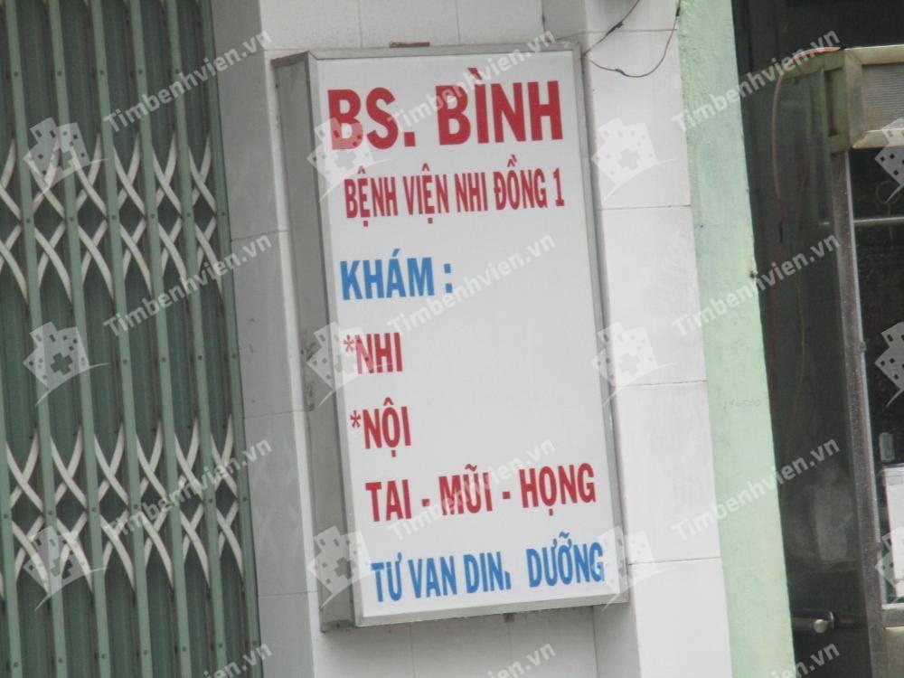 Phòng khám chuyên khoa Nhi - BS. Hồ Tấn Thanh Bình