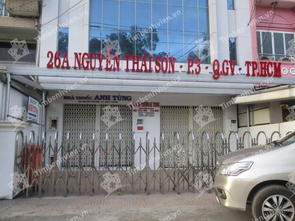 Phòng khám chuyên khoa Gan - Mật - BS Trương Bá Trung