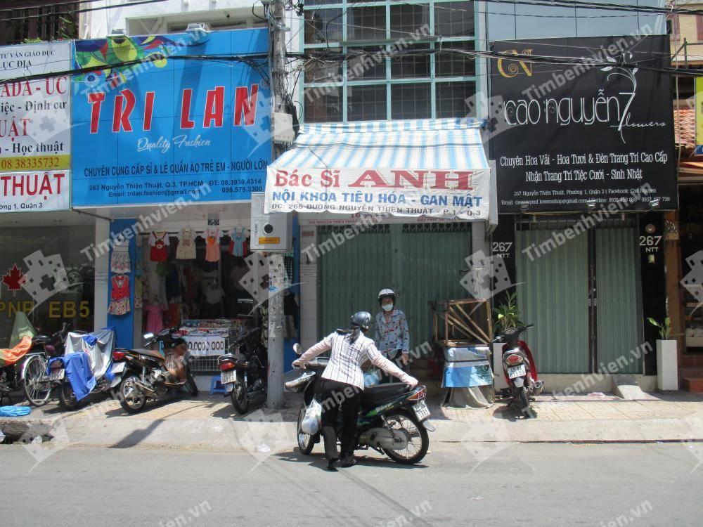 Phòng Khám Chuyên Khoa Nội Tiêu Hóa - Gan Mật - BS Nguyễn Y Anh